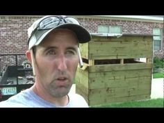 How To Build Box Blind Deer Stand Shooting House - YouTube