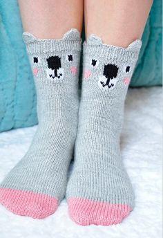 Ravelry: Pawsome Pals Koala, Fox, and Pig Animal Socks pattern by Lauren Riker Funny Socks, Cute Socks, Doll Sewing Patterns, Knitting Patterns, Knitting Ideas, Crochet Patterns, Sock Animals, Cute Animals, Koala Craft