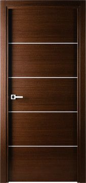 Mia Interior Door Wenge contemporary interior doors
