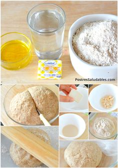 Pizza with flour Integral 300 g of wholemeal flour ml of water g of … Salty Foods, Salty Snacks, My Recipes, Italian Recipes, Healthy Recipes, Healthy Food, Masa Pizza Integral, Quiches, Stromboli Recipe