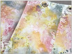 Distress Oxide Framed Panel by Paula Cheney | www.rangerink.com