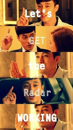 Lol, Joo Joong Won's cute let's get the radar working and make me some money faces! He really loved making his money.lol The Master's Sun