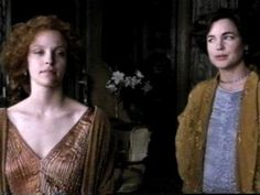 Allison Elliott and Elizabeth McGovern  THE WINGS OF THE DOVE (1997)