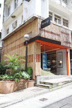 Aesop store Sheung Wan by Petite Passport
