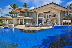 Jewel of Maui Residence in Hawaii  (it's only $47,500 a week to rent!) lol..I wish :)