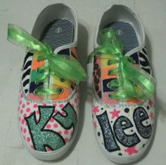 Hand painted shoes #toocute