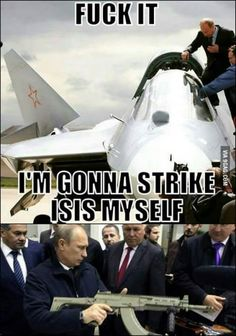 Go Hard Like Putin!