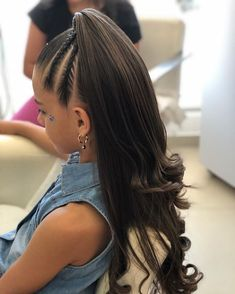 Short Hair Styling Mistakes Women Should Avoid – Hairdo Chicks Lil Girl Hairstyles, Girls Short Haircuts, Pretty Hairstyles, Braided Hairstyles, Toddler Hairstyles, Bun Hairstyle, Hairstyles Videos, Hairstyles 2016, Brown Ombre Hair