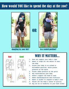 safe babywearing :)