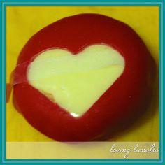 Valentine's Hearts  #bento  #littlebentomovement  #Babybel
