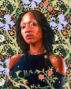 From Kehinde Wiley's An Economy of Grace Exhibit.