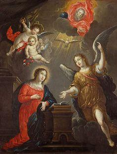 Anunciación Cornelio Schut I, el Viejo Anunciación