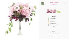 Wedding Flowers using the Flowers by Number starter kit