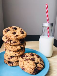 Cookie Recipes, Dessert Recipes, Biscotti Cookies, Easy Desserts, Yogurt, Muffin, Food And Drink, Eat, Cooking