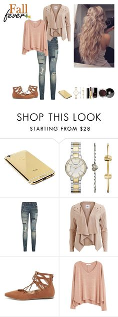 """""""Fall Season"""" by helen95 on Polyvore featuring beauty, Goldgenie, FOSSIL, Polo Ralph Lauren, Object Collectors Item, Liliana, Chanel and MANGO"""