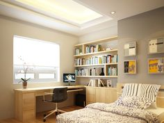 Small Bedroom Interior Design Gallery - Space is one of the very typical problems with condos and apartments these days. Small Apartment Decorating, Interior, Home, Interior Design Gallery, Interior Design Bedroom Small, Small Bedroom Interior, Interior Design, Interior Design Bedroom, Long Bedroom Ideas