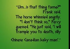 Percy Jackson Jokes - Favorite quotes from Each Book (PJO & HoO ...