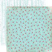 Cozy Cardinals Paper - Keepin' Cozy - Echo Park