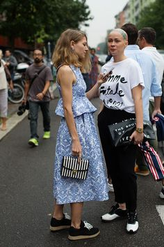 On the Street…..At Fendi, Milan (via Bloglovin.com ) Pinterest: KarinaCamerino