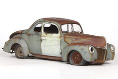jtolchet 's 1940 Ford album Plastic Model Cars, Model Trains, Cool Websites, Scale Models, Ford, Social Club, Album, Rust, Bucket