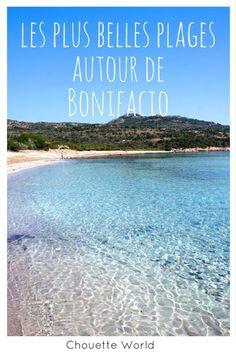 Les plus belles plages autour de Bonifacio, Corse du sud : rondinara, palombaggia, santa giulia... Corsica, France Europe, Blog Voyage, Portugal, Places To Visit, Santa Giulia, Beach, Nature, Travel