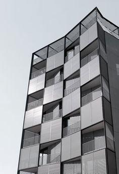 On Diseño - Proyectos: Edificio de 56 viviendas, locales comerciales y aparcamiento en la plaza Lesseps de Barcelona