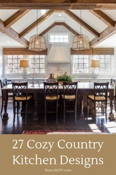 From charming wood floors to wrought-iron fixtures, get tips for using details that embody a warm country design style.
