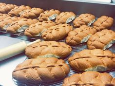 Traditional Guyanese Plait Loaf at Alima's Roti and Pastry 13 Kenview Blvd Brampton ONT Canada 905 791 7684