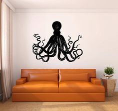Large Octopus Vinyl Wall Decal Sticker Graphic