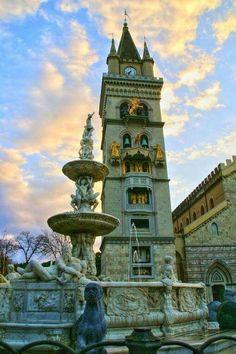 MESSINA Il Duomo Italia.