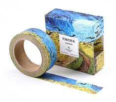 Van Gogh Wheat Field with Crows Japanese Washi Tape by Callicrafty