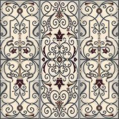 Decorative Tile Abstract Rocks Backsplash Tile Set  Rock Backsplash Art Tiles