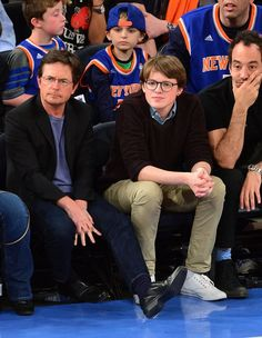 Michael J. Fox and Sam Michael Fox=aww The Future Movie, Back To The Future, Fathers Love, Father And Son, Celebrity Kids, Celebrity Photos, Hollywood Stars, Classic Hollywood, Michael Fox