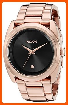 Nixon Women's A9352046 Queenpin Analog Display Japanese Quartz Rose Gold  Watch - All about women (