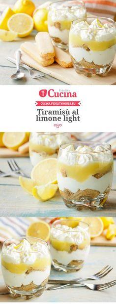 Tiramisù al limone light