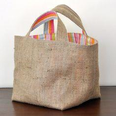 Корзинки, торбы, сумочки на лето Burlap Tote, Promotional Bags, Diy Sac, Personalized Tote Bags, Diy Handbag, Jute Bags, Printed Tote Bags, Fabric Bags, Cloth Bags