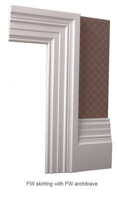 Skiffers Corner Protectors For Skirting Boards And Wall