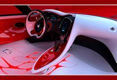 Futuristic Dashboard, Future Car, Futuristic Car Interior, Renault DeSir