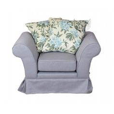 Fotel w stylu skandynawskim - Ivonne