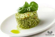 Risotto mit Radieschenblätter-Pesto
