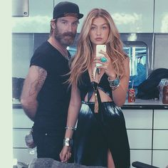 naturally gifted Gigi Hadid best beauty Instagram