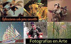 Convierte tus Fotos en Arte, como si fuesen la obra del pincel de un artista, de forma sencilla con estas dos aplicaciones web gratuitas.