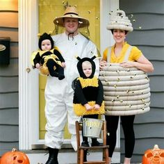 53 coordinated family costumes