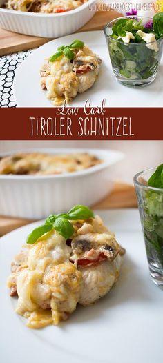 Köstliche Schnitzel Tiroler Art www.lowcarbkoestlichkeiten.de