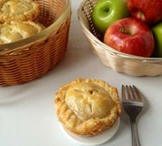 These mini apple pies are perfect for on-the-go snacking. Though they're smaller, they are packf...