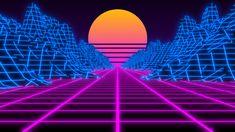 80s Background, Background Pictures, Vaporwave, Illustration Techniques, Retro Waves, Retro Futuristic, Retro Wallpaper, Graphic Design Posters, Aesthetic Backgrounds