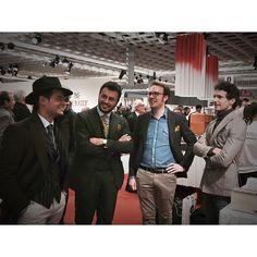 #RiccardoPozzoli Riccardo Pozzoli: @ferruccimilano gentlemen in Florence. #pitti #pittiuomo87 #ferruccirocks #ferruccimilano #ferruccidoesitbetter