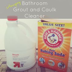 Confessions of a Stay-At-Home Mom: Bathtub Grout and Caulk Cleaner
