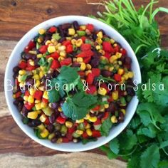 eat. live. splurge.: Black Bean & Corn Salsa