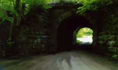 The Haunted Tunnel, off US 42, juste beyond  the south city limits of Ashland, Ohio